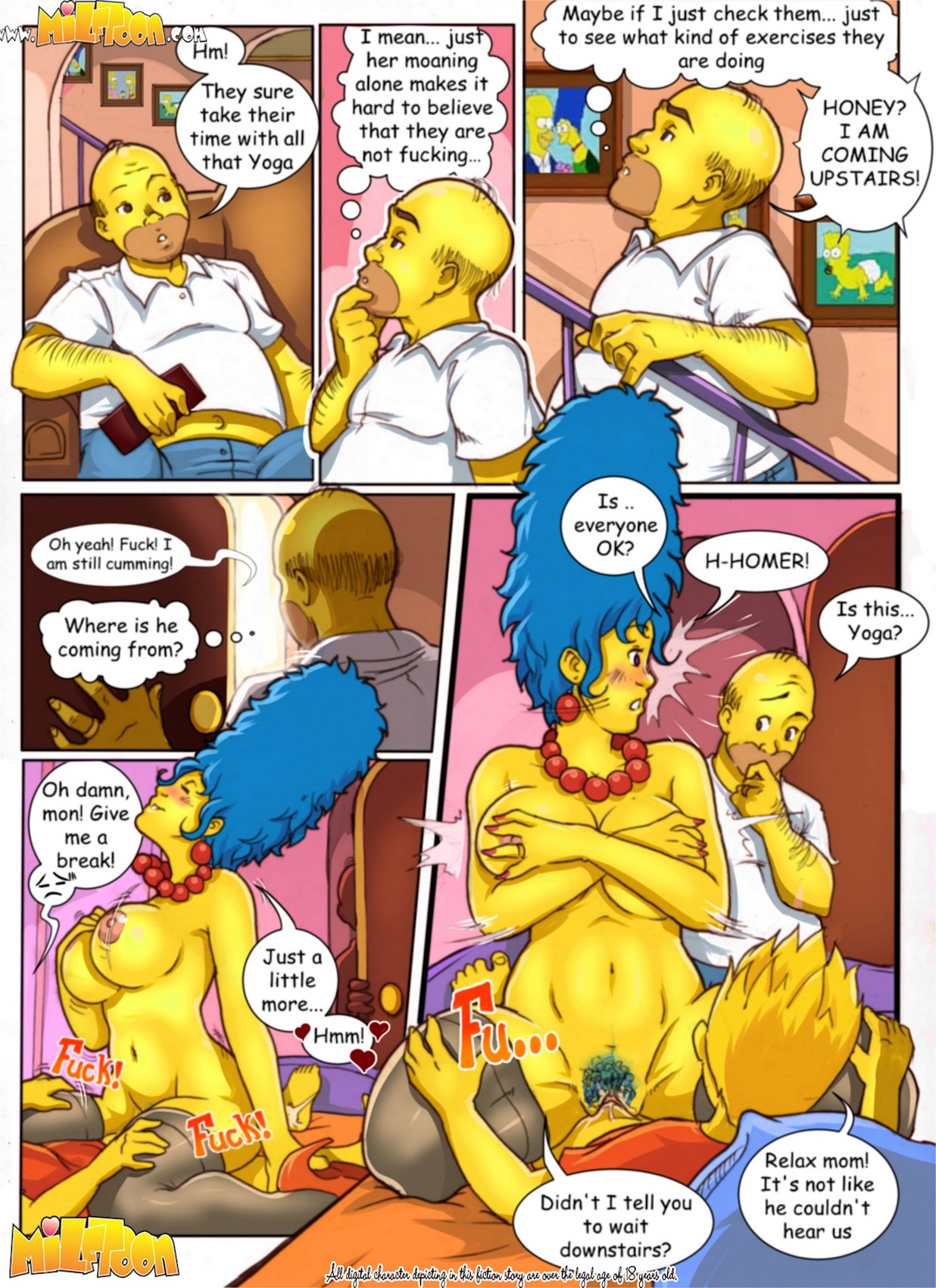 cartoon porn of the simpsons
