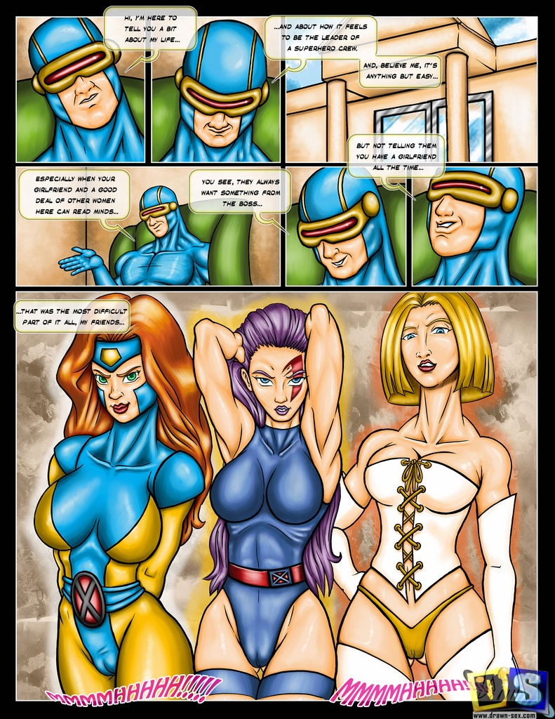 x men cartoon porn